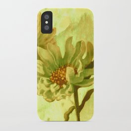 flowers in love iPhone Case