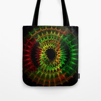 reggae Tote Bags featuring Reggae Vibe by A-Devine