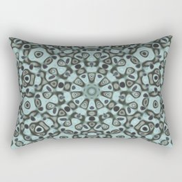A mandala of masks Rectangular Pillow