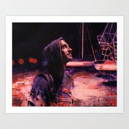 By night Art Print