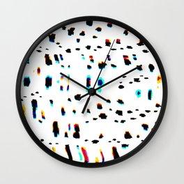 Digital Snow Leopard Wall Clock