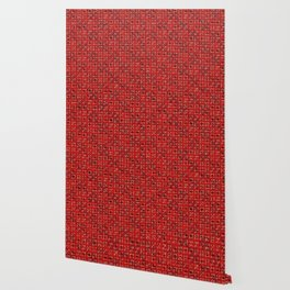 Tartan Alphabet Pattern / Dennis Weber / ShreddyStudio Wallpaper