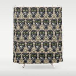 Owling Pt3 Shower Curtain
