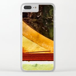 Wave Wall II Clear iPhone Case