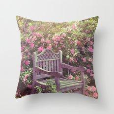Save me a seat! Throw Pillow