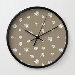 Capo Blanco - Gold Wall Clock