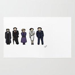 Characters of Sherlock Rug