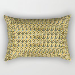 Cheetah print yellow Rectangular Pillow