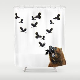 Sacred Outrage Shower Curtain