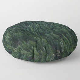 All the trees Floor Pillow