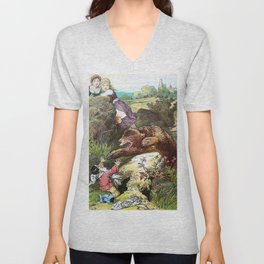 Alexander Zick - Snow White And Rose Red - Digital Remastered Edition Unisex V-Neck