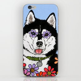 Summit the Husky iPhone Skin