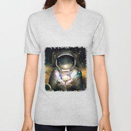 Astronaut Unisex V-Neck