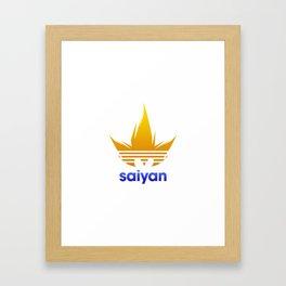 Saiyan Originals Framed Art Print