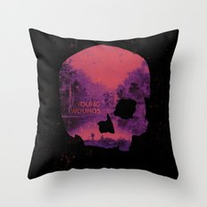 Young Wounds Throw Pillow