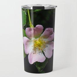 Dog Rose (Rosa canina) Travel Mug