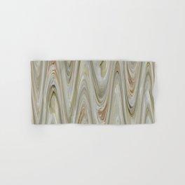 Zigzag Off Whites Hand & Bath Towel