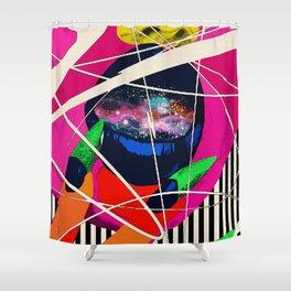 Cosmic Girl Shower Curtain