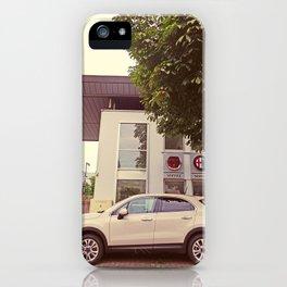 """Fiat 500X """"The Perturbator"""" iPhone Case"""