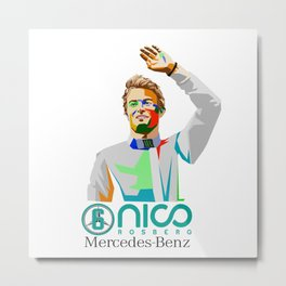 Nico World Champions Metal Print