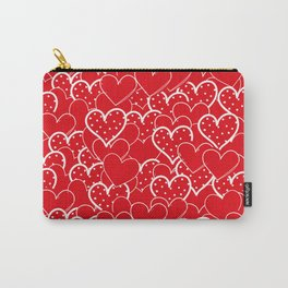 Valentine's background Carry-All Pouch