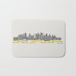 New York City Panoramic Bath Mat