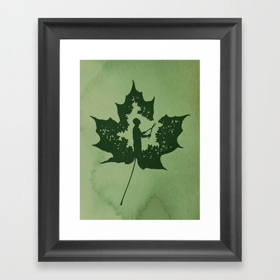 A New Leaf Framed Art Print