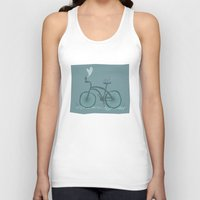 bicycle Tank Tops featuring Bicycle  by Anita Ivancenko