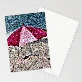 Pink Umbrella Stationery Cards