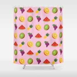 K-Pop Pattern: Red Flavor Shower Curtain