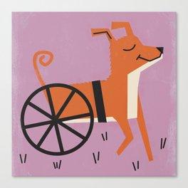 Dog_23 Canvas Print