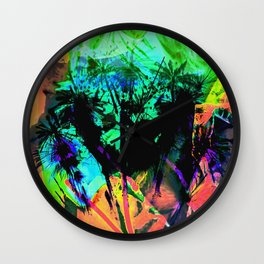 Tropical Madness Wall Clock