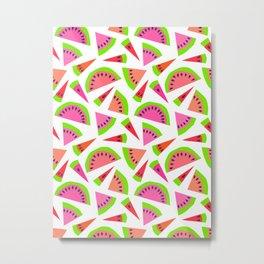 Juicy, juicy watermelon ... Metal Print