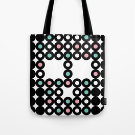 Retro Skull #4 Tote Bag
