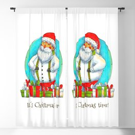 It's Christmas Time! (Santa) Blackout Curtain