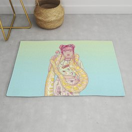 Candid Candy Lady Rug