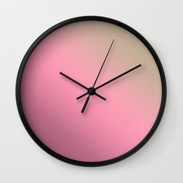 3 Ombre Wall Clock