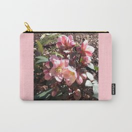Lenten Roses Blooming in Early Spring Carry-All Pouch