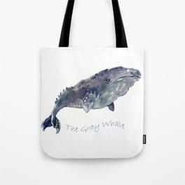 Gray Whale Tote Bag