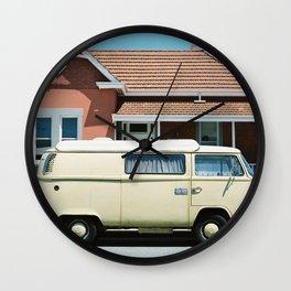 Fremantle Combi Wall Clock