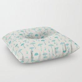 Mushroom Pattern I Floor Pillow