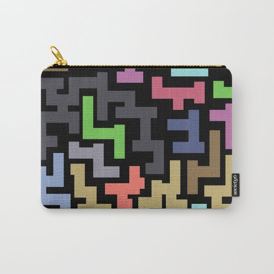 Colorful Maze III Carry-All Pouch
