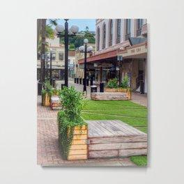 Napier City Street Metal Print