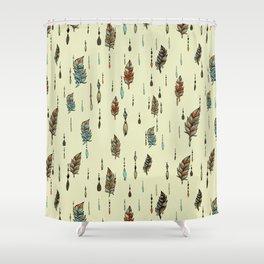 V36 BOHO ANTHROPOLOGIE STYLE PATTERN Shower Curtain