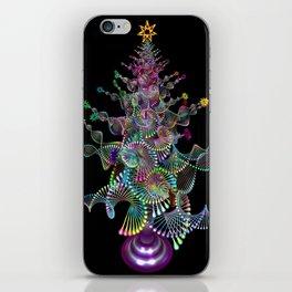 Tree-cristmas decortion iPhone Skin