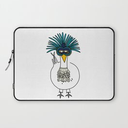 Eglantine la poule (the hen) at the Venice Carnival Laptop Sleeve