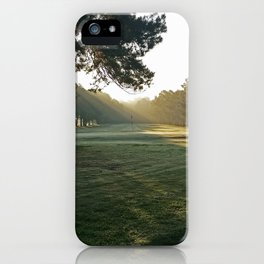 Early Morning Hole 6 at Willow Lake iPhone Case