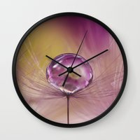 singapore Wall Clocks featuring Singapore Lashes by AmyDee
