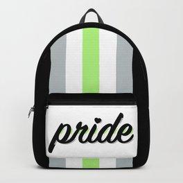 Agender Pride Backpack