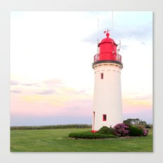 Lighthouse in Victoria Canvas Print